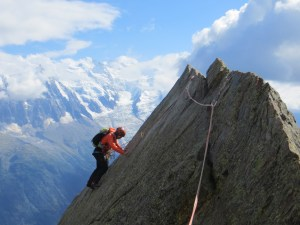 alpinisme au féminin rocher