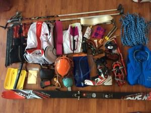 sac compétition ski-alpinisme - www.pasquedescollants.com / ski de rando