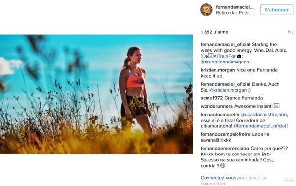 FERNANDA MACIEL_ top10 des comptes instagram de traileuses /http://pasquedescollant.com trail run running sportives trail au féminin