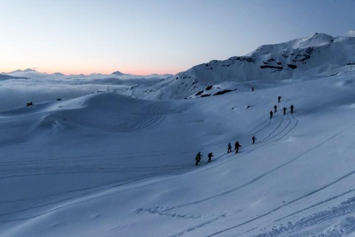 Val thorens ski de randonnée