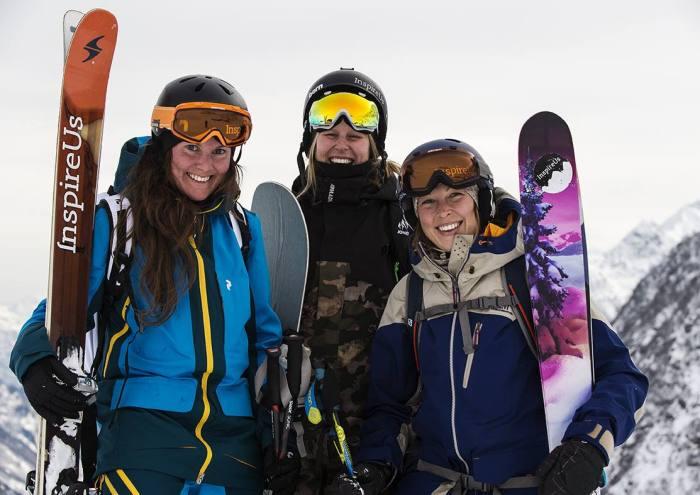 InspireUs Caroline Strömberg, Anna Karlström & Rebecka Eriksson