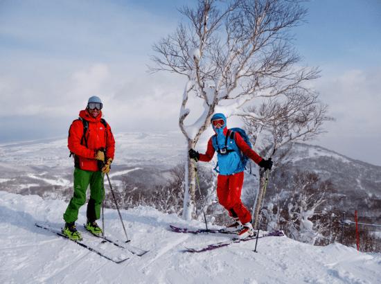 ou skier à sapporo Japon Hokkaido / http://pasquedescollants.com