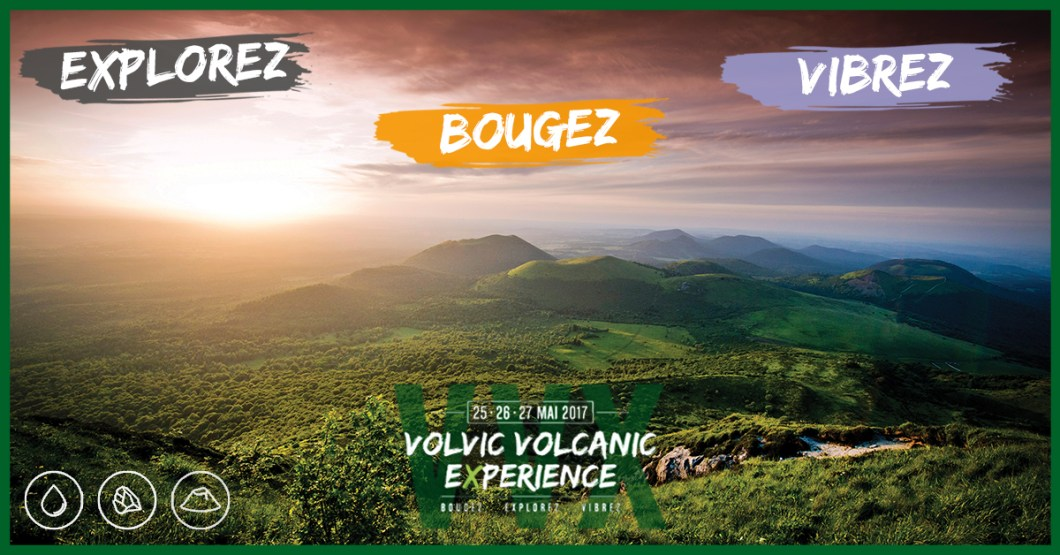 Volvic volcanic experience affiche