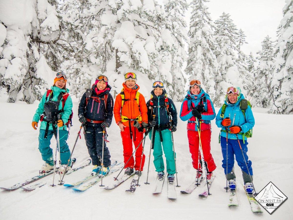 Teaser du Women's skimo project - opus Japon