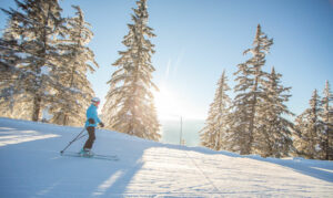 ski de pleine conscience grand massif