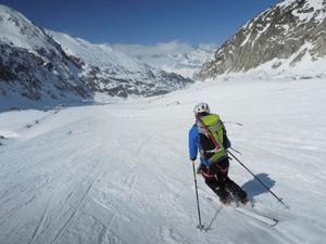 Brèche Puiseux en ski de rando - Idée de course