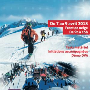 val d isere village ski de rando avril 2018
