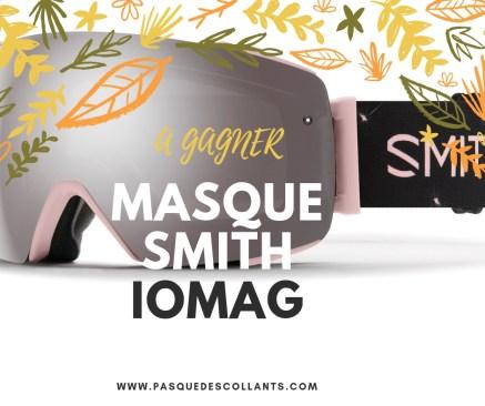 Jeux concours-outdoor smith masque de ski