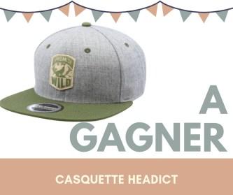 Jeux concours-outdoor casquette headict
