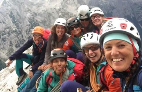 GAF74 face nord triglav film slovenie groupe alpinisme feminin