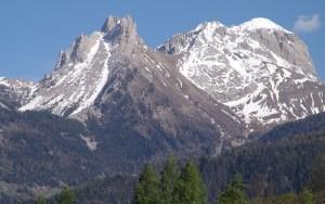 Massif des Ecrins fonte des neiges