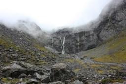 montagne écoulement pluie