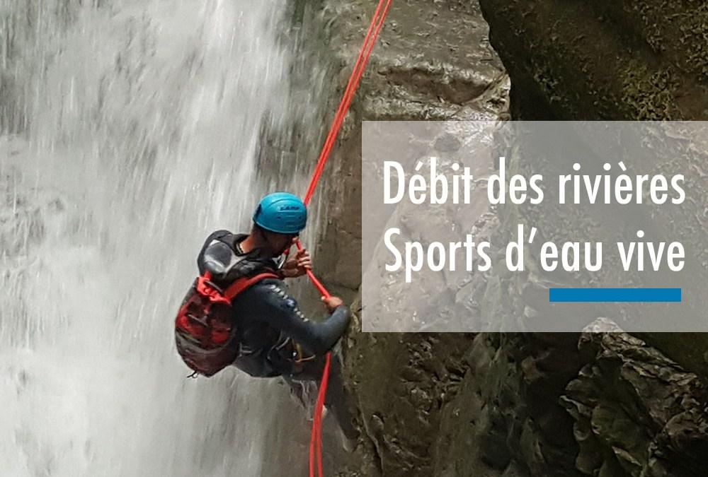Les risques liés au débit dans les sports d'eau vive