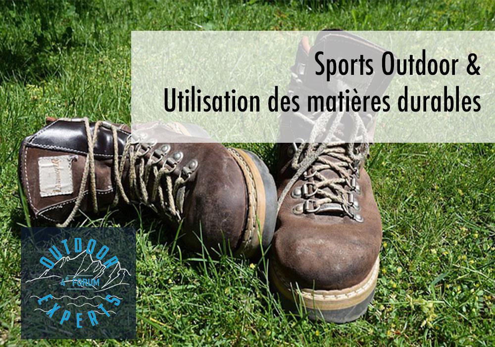 Sports Outdoor Matières Durables