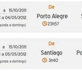 GOL: Nova rota entre Porto Alegre e Santiago