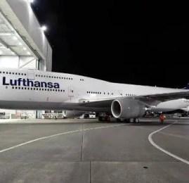 Lufthansa compra 20 jatos B747-800