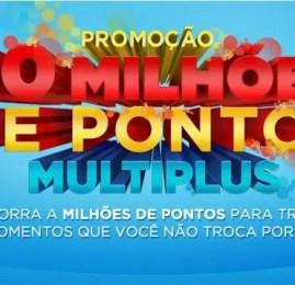 Multiplus Fidelidade vai sortear 20.000.000 (Vinte Milhões) de Pontos