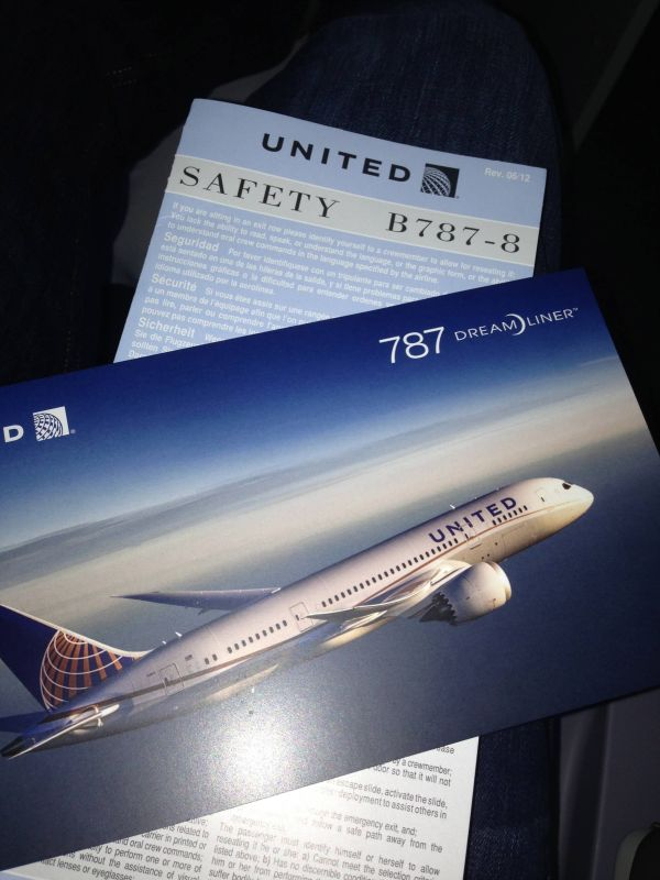 United 787 - Dreamliner
