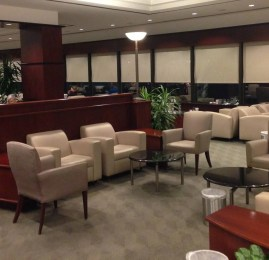 Sala VIP United Club – Aeroporto de Houston (IAH)