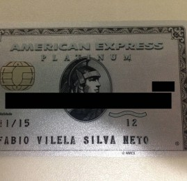 American Express The Platinum Card – Kit de boas vindas