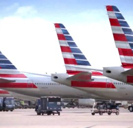 American Airlines apresenta sua nova logo e nova pintura