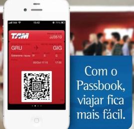 TAM começa a oferecer cartão de embarque no iPhone pelo Passbook