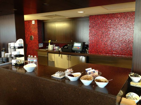Hilton Anatole Dallas - Executive Lounge