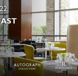 Marriott Rewards agora oferece café da manhã gratuito para membros Elite