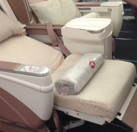 Classe Executiva da Turkish Airlines no Airbus A340