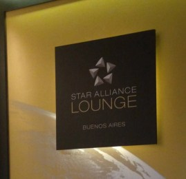Sala VIP – Star Alliance Lounge Buenos Aires
