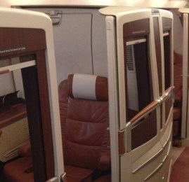 Suites da Singapore Airlines no A380