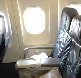 Primeira Classe Doméstica da US Airways no A321