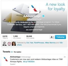 American Airlines publica que já e possível usar milhas AAdvantage para resgatar passagens em voos da TAM