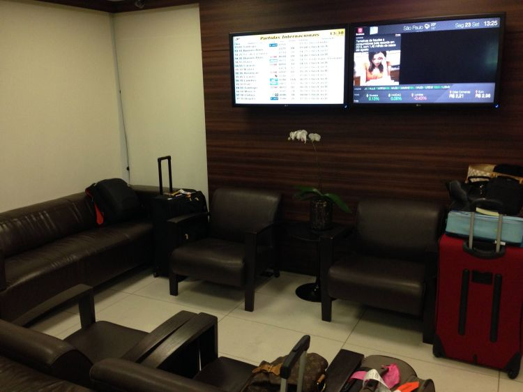 Sala VIP Centurion Club Guarulhos American Express