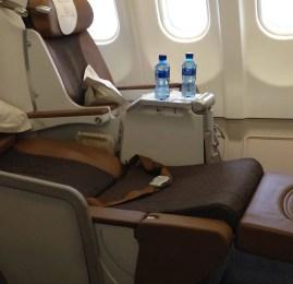 Classe Executiva da South African Airways no A330