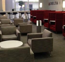 Sala VIP Delta SkyClub no Aeroporto de Atlanta (ATL) – Terminal F