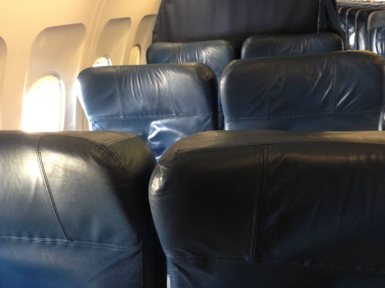 Delta First Class A320 Primeira Classe