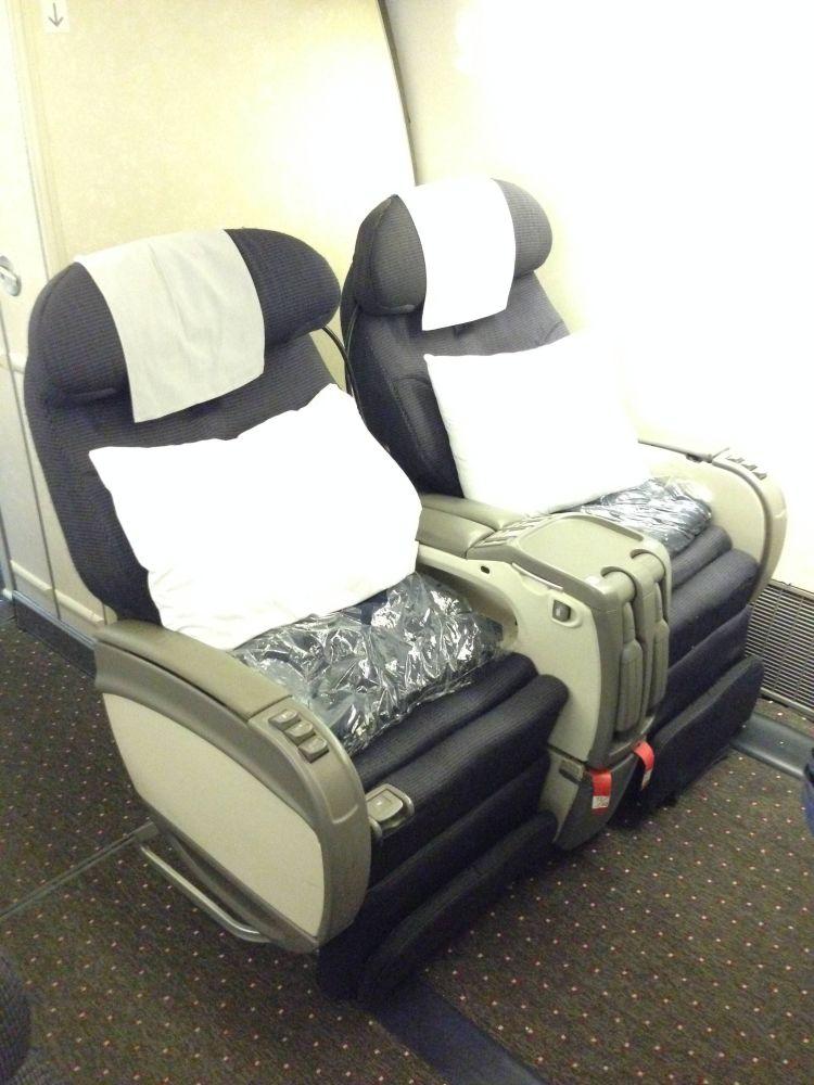 Classe Executiva United 777-200
