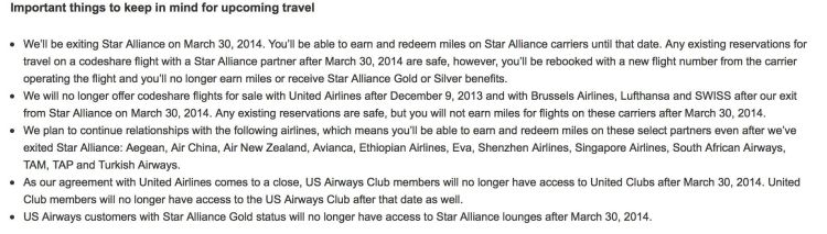 us airways star alliance