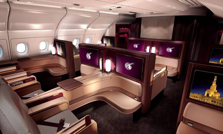 qatar new first class a380