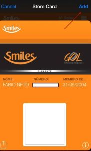 smiles passbook gol