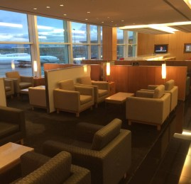 Cathay Pacific First and Business Class Lounge no Aeroporto de Vancouver (YVR)