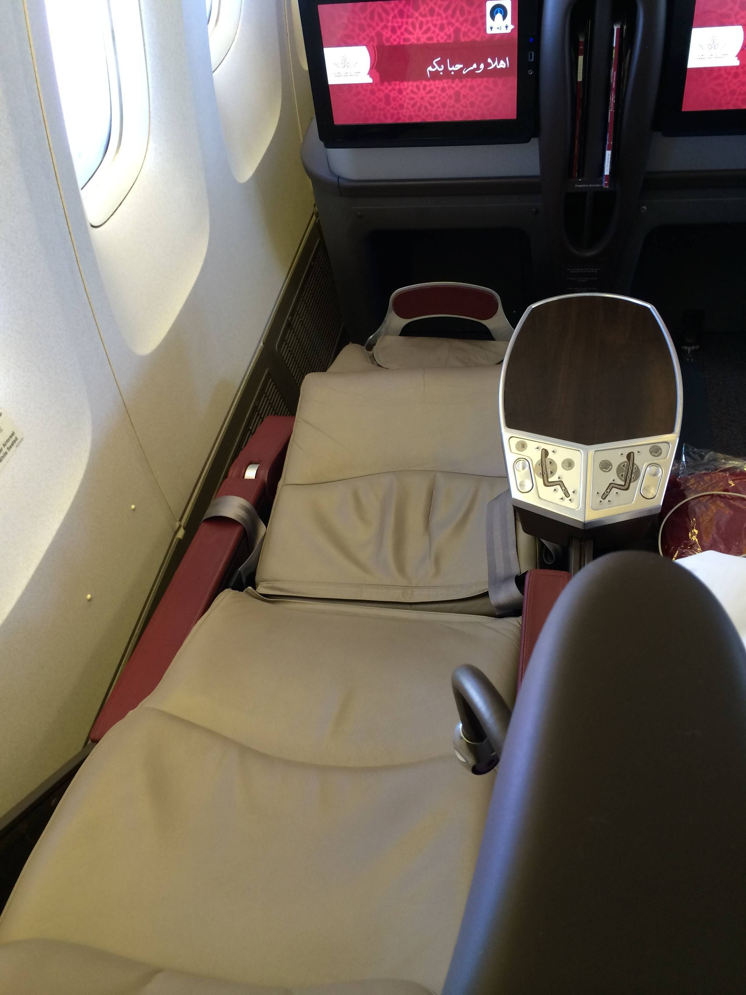 royal air maroc b767 business class passageirodeprimeira