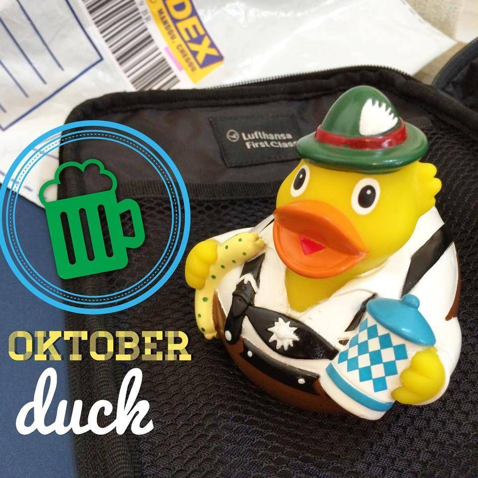 lufthansa oktoberfest duck