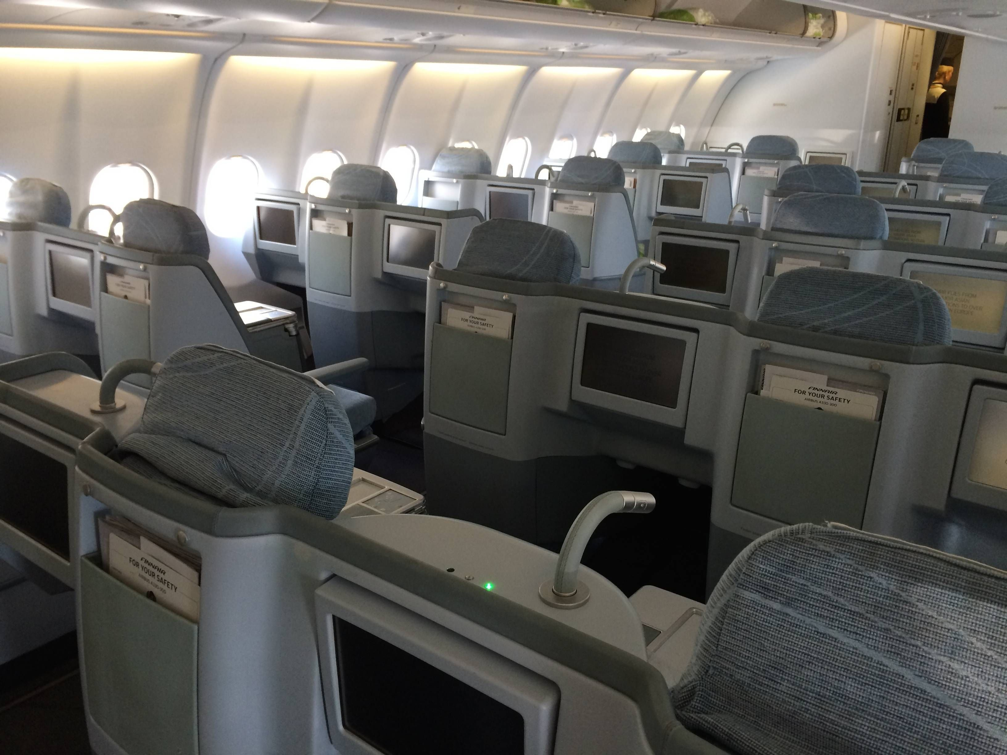 finnair business class a330 classe executiva passageirodeprimeira