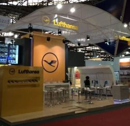Visite a ABAV à convite da Lufthansa e Passageiro de Primeira