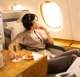 Promoção Emirates para voar em Primeira Classe e Classe Executiva