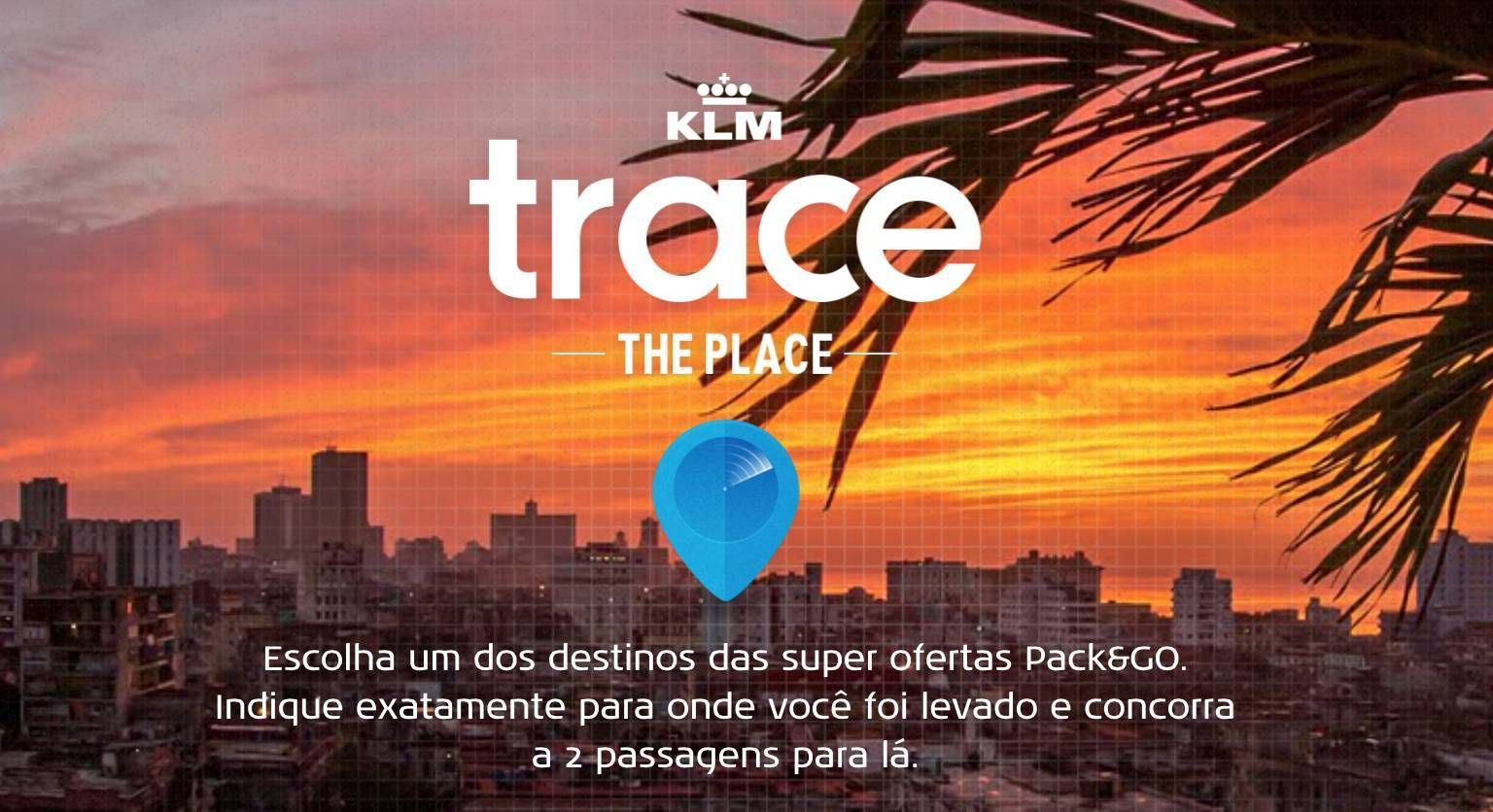 klm trace the place passageirodeprimeira