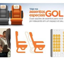 GOL expande comercialização do assento GOL+ Conforto
