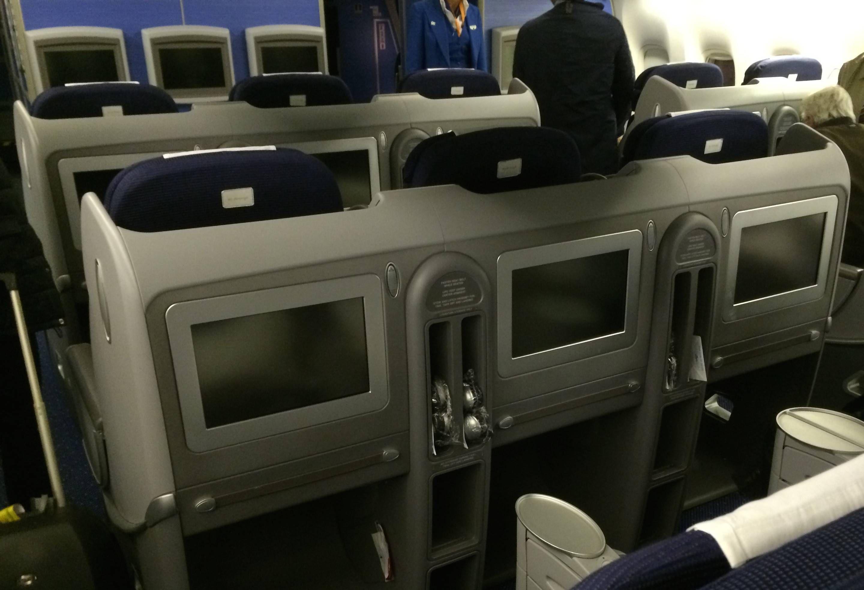 KLM b777 classe executiva business class passageirodeprimeira